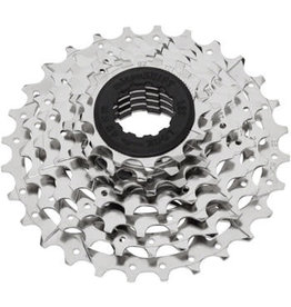 Microshift microSHIFT H07 Cassette - 7 Speed, 12-28t, Silver, Nickel Plated