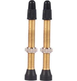 WTB WTB Brass TCS Valve: 46mm, Pair