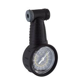 Sunlite Tire Pressure Gauge DuoSport Dial Schrader, Presta, 260psi