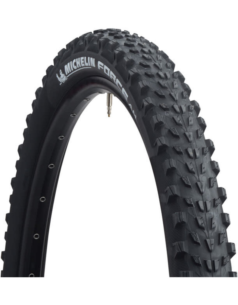 Michelin 27.5x2.35 Michelin Force AM Tire, Tubeless, Folding, Black, 60tpi