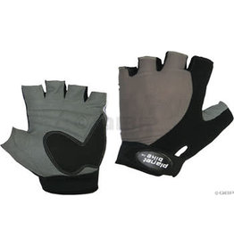 Planet Bike Planet Bike Gemini Gloves - Black, Short Finger, Medium