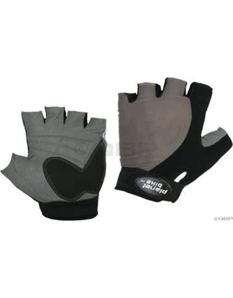 Planet Bike Planet Bike Gemini Gloves - Black, Short Finger, Medium
