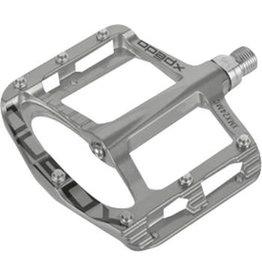 """Xpedo Xpedo Spry Pedals - Platform, Magnesium , 9/16"""", Silver"""
