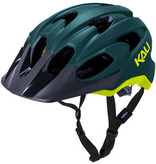 Kali Protectives Kali Protectives Pace Helmet - Matte Teal/Yellow, Small/Medium