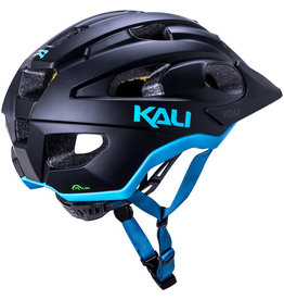 Kali Protectives Kali Protectives Pace Helmet - Matte Black/Blue, Small/Medium