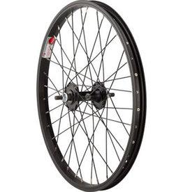 """Sta-Tru Front Wheel Front Wheel - 20"""", 3/8"""" x 100mm, Rim Brake, Black, Clincher"""