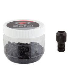 Zefal Zefal Presta Adapter, Black Brass, Jar of 150