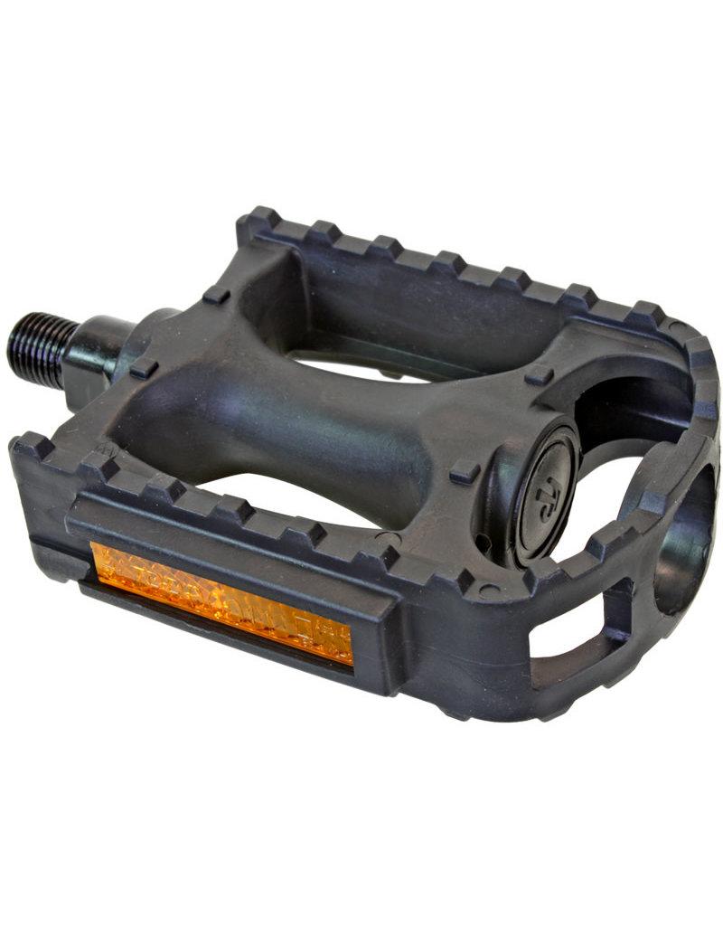 "Sunlite Pedals MTB Plastic 1/2"" (opc) Black"