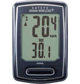 CatEye CatEye Urban+ Bike Computer - Wireless, Black