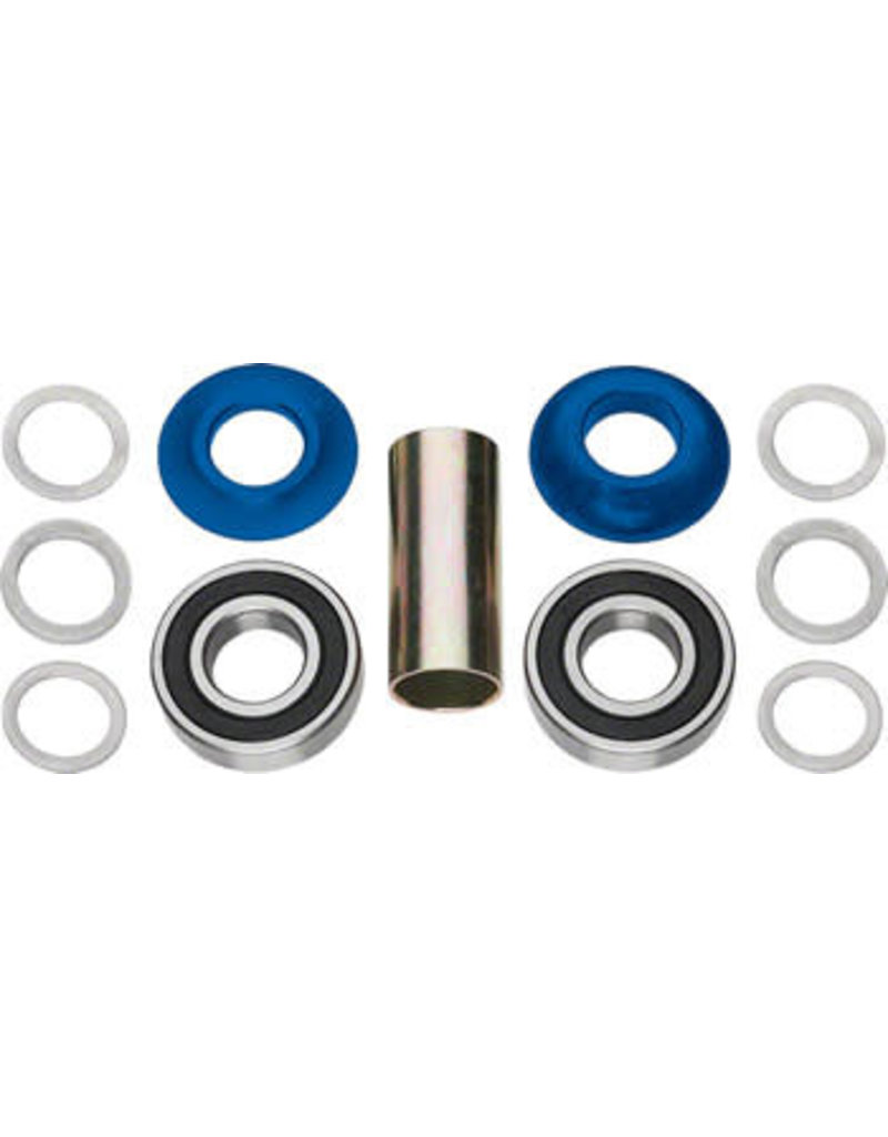 Profile Racing Profile Racing Mid Bottom Bracket Set Blue (no Spindle)