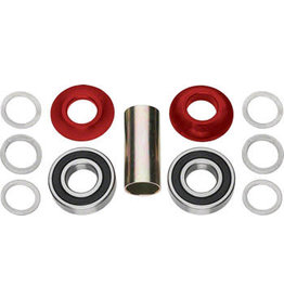 Profile Racing Profile Racing Mid Bottom Bracket Set Red (no Spindle)