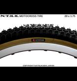 "Panaracer 20x1.75 Panaracer NTKK ""Snakebelly"" BMX Foldable Kevlar Tire - Black"