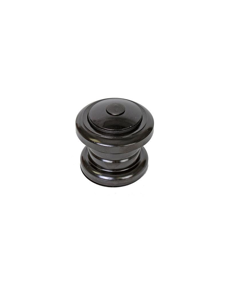 Sunlite, Headset, Threadless, Steel Replacement, MTB, BMX, 1-1/8x34x30 Black