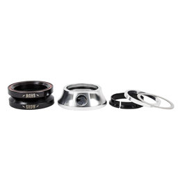 """The Shadow Conspiracy The Shadow Conspiracy Integrated Stacked Headset 1-1/8"""" Polished Silver"""