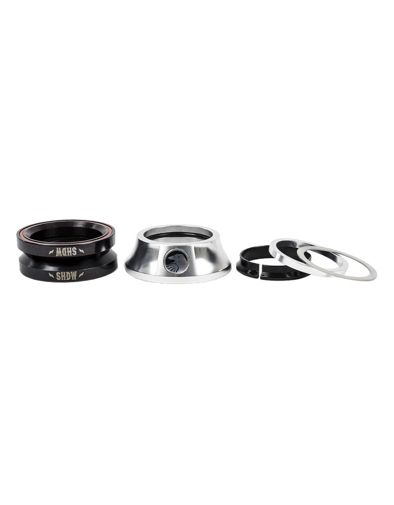"The Shadow Conspiracy The Shadow Conspiracy Integrated Stacked Headset 1-1/8"" Polished Silver"