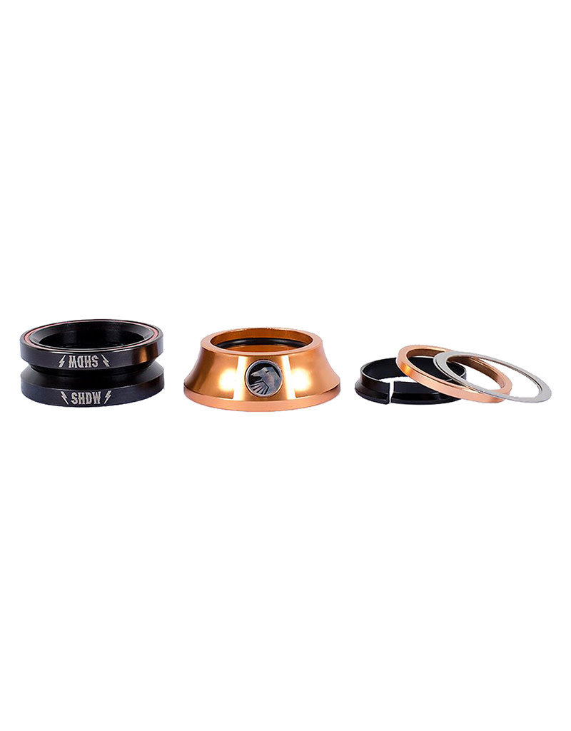 "The Shadow Conspiracy The Shadow Conspiracy Integrated Stacked Headset 1-1/8"" Copper"