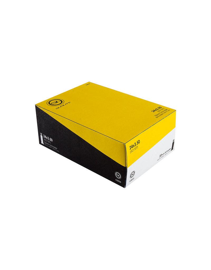 24x3.5 Sunlite Tube Schrader Valve 32mm, FFW90mm