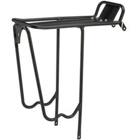 MSW MSW RCR-100 Pork Chop Light-Duty Rear Rack, 700c, Black