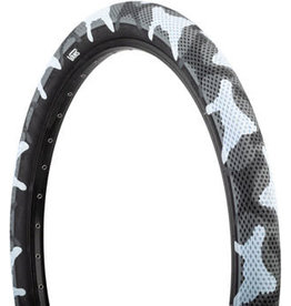 Cult 20x2.4 Cult X Vans Tire, Clincher, Wire, Gray Camo/Black