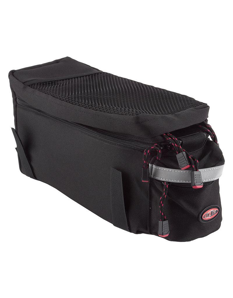 Delta Top Trunk Rack Bag, Expandable Top, Black