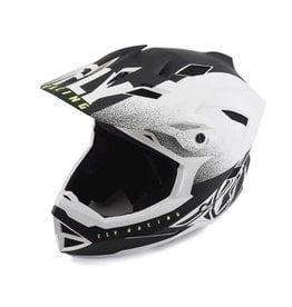 Fly Racing Fly Racing Default Full Face MTB/BMX Helmet, Matte White Black, Large