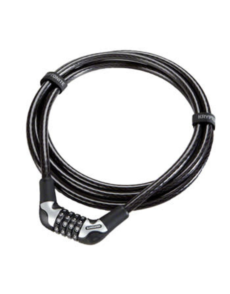 Kryptonite Kryptonite KryptoFlex 1230 4-Digit Combo Cable Lock: 10' x 12mm