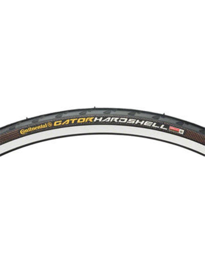 Continental 700x28, Continental Gator Hardshell Tire, Clincher, Wire, Black, 180tpi