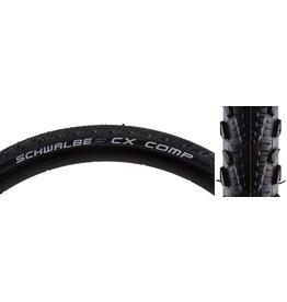 Schwalbe 700x38c (40-622) Schwalbe CX Comp Tire SBC, K-Guard, Black, Wire Bead