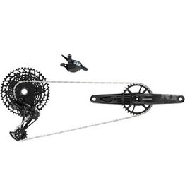 SRAM SRAM NX Eagle Groupset: 175mm 32 Tooth DUB Crank, Rear Derailleur, 11-50 12-Speed Cassette, Trigger Shifter, and Chain