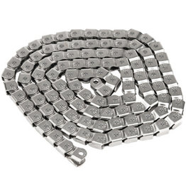 "Salt Salt Cool Knight Chain - Single Speed 1/2"" x 1/8"", 100 Links, Silver"