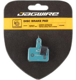 Jagwire Jagwire Sport Organic Disc Brake Pads (#22) Shimano Acera M3050, Alivio M4050, and Deore M515/M515-LA/M525/T615