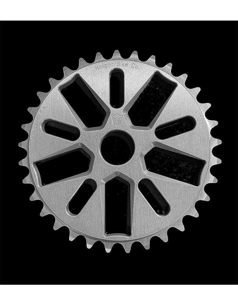 Knight Bike Co. Knight Bike Co Starfighter Sprocket, 33T Silver