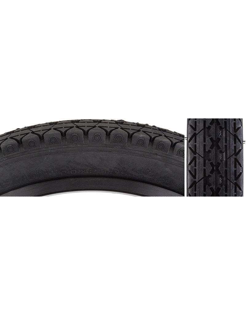 20x2.125 Sunlite/CST-241 Black Cruiser Tire
