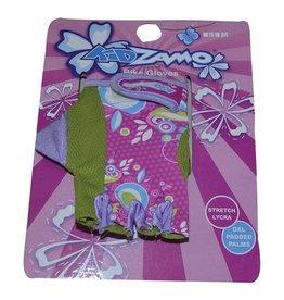 Kidzamo KIDZAMO Kids Gloves, Pink/Green Small ages 3-7