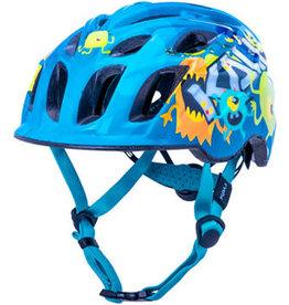 Kali Protectives Kali Protectives Chakra Child Helmet - Monsters Blue, Children's, X-Small
