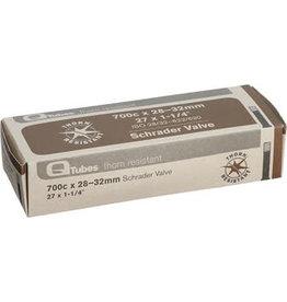 700x28-32mm Q-Tubes Thorn Resistant Schrader Valve Tube 400g