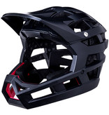 Kali Protectives Kali Protectives Invader Full-Face Helmet - Solid Matte Black, X-Small/Medium