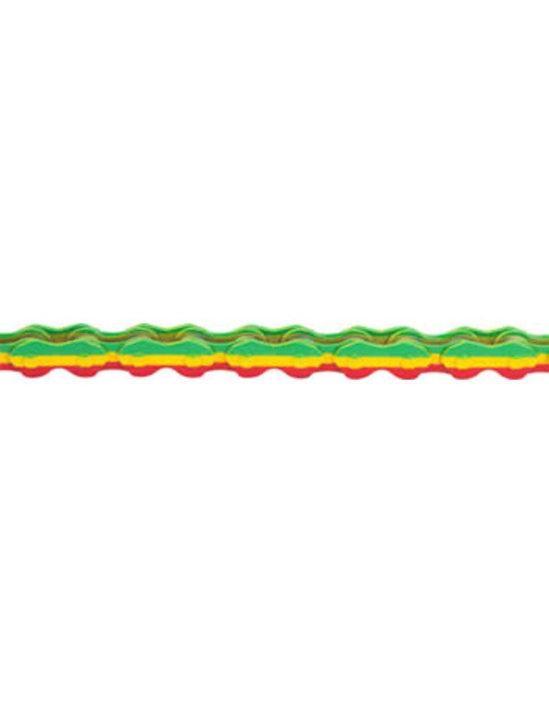 "KMC KMC K710 Kool Chain - Single Speed 1/2"" x 1/8"", 112 Links, Rasta"