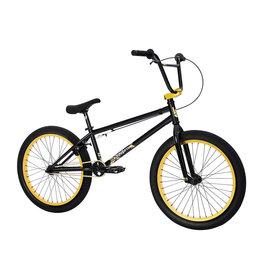 "Fit Bike Co 2021 Fit Series 22, Black/Gold, 22"" wheel (21.125tt)"