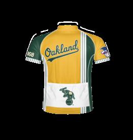 Primal Oakland A's Men's Sport Cut Cycling Jersey