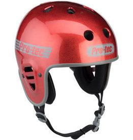 Pro-tec ProTec Full Cut Helmet - Red Flake, Large
