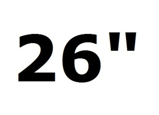 "26""-29"""