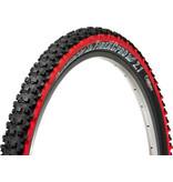 Panaracer 26x2 .1  Panaracer Fire Pro Tire, Tubeless, Folding, Black/Red