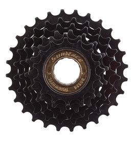 SunRace Freewheel MFM05 14-28t, 6-Speed, Friction Black