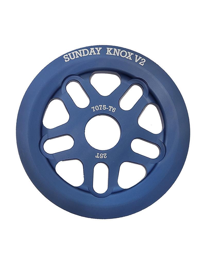 Sunday Sunday Knox v2 Sprocket - 25t, Blue