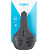MSW MSW SDL-164 Spin Fitness Saddle - Steel, Black