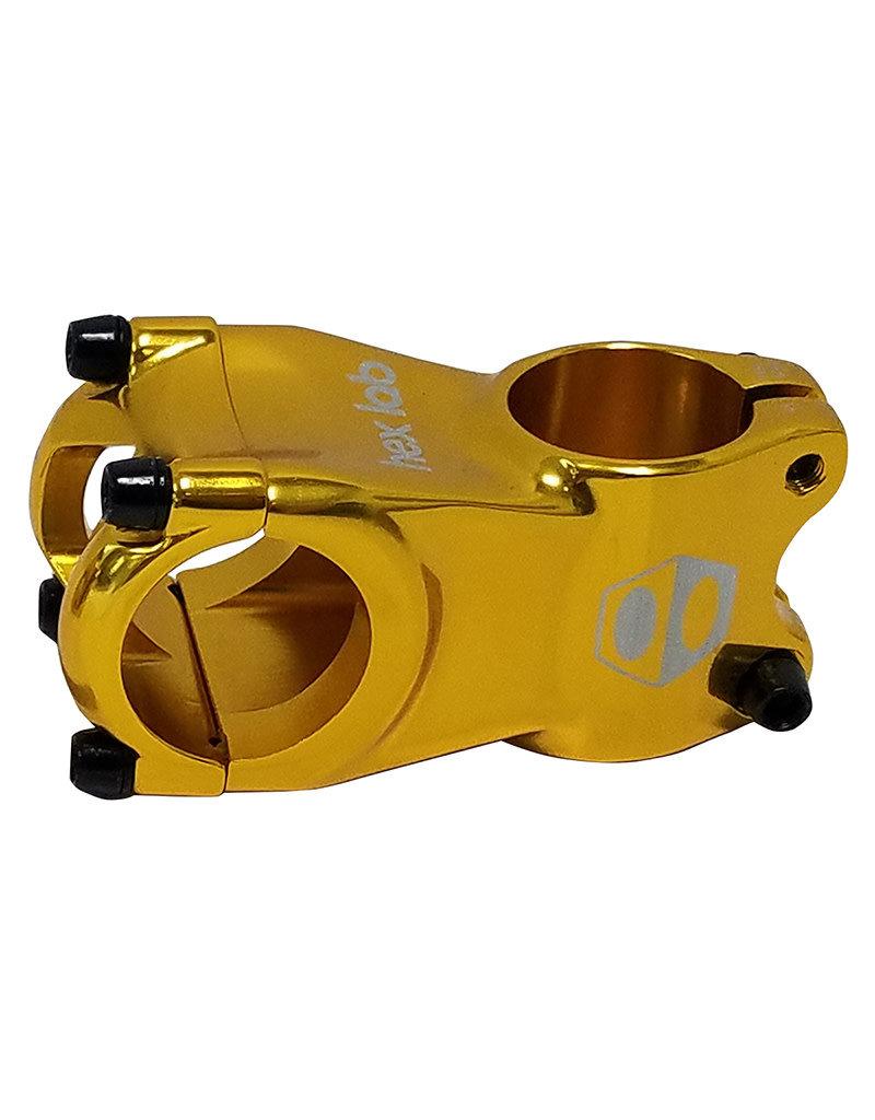 BOX COMPONENTS BOX Cusp mini stem 28.6mm x 45mm gold