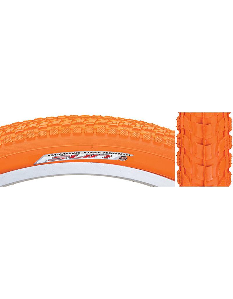 Kenda 26x2.125 Kenda Komfort K927 Orange Cruiser Tire w/Sun Logo