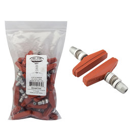 Kool Stop Kool-Stop Brake Shoes Threaded Salmon Pair