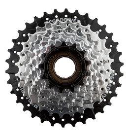 SunRace Freewheel MFM56 13-34t, 8-Speed, Chrome/Black